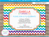 Templates for Birthday Invitations Free Rainbow Party Invitations Template Birthday Party