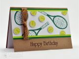 Tennis Birthday Cards Splotch Design Jacquii Mcleay Independent Stampin 39 Up