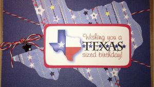 Texas Birthday Card Brenda 39 S Card Corner Texas Sized Birthday