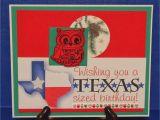 Texas Birthday Card Created by Sunshine Honeybee Tx Sized Birthday Christmas Card
