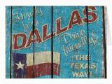 Texas Birthday Card Vintage Texas Dallas Greeting Card Zazzle