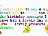 Thank U for Wishing Me Happy Birthday Quotes Birthday Thank You Quotes for Instagram Bios Cute