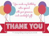 Thank You Card after Birthday Party How to Say Thank You for Birthday Wishes Easyday