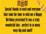 Thank You Everyone for Wishing Me A Happy Birthday Quotes Thank You Birthday Wishes 24 Thank You Note to Everyone