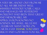 Thank You Everyone for Wishing Me A Happy Birthday Quotes Thanks for the Birthday Wishes Notes and Quotes Cute