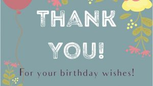 Thank You for Your Birthday Card Thank You Messages Sms for the Birthday Wishes and Cards