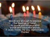 Thanks for Happy Birthday Wishes Quotes Thanks for Birthday Wishes Quotes Messages and Images