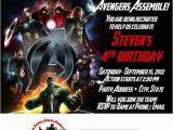 The Avengers Birthday Invitations 301 Moved Permanently