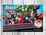 The Avengers Birthday Invitations the Avengers Birthday Invitation Printable Super Hero
