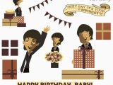 The Beatles Birthday Card Linnica A 3d Beatles Birthday Card
