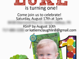 The Hungry Caterpillar Birthday Invitations the Very Hungry Caterpillar Birthday Party Pick Any Two