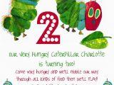 The Hungry Caterpillar Birthday Invitations the Very Hungry Caterpillar by Eric Carle Birthday Party