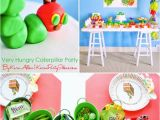 The Very Hungry Caterpillar Birthday Party Decorations Kara 39 S Party Ideas the Very Hungry Caterpillar 3rd