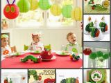 The Very Hungry Caterpillar Birthday Party Decorations Les Enfants Stylish Children 39 S Parties Blog Very Hungry