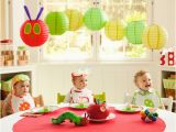 The Very Hungry Caterpillar Birthday Party Decorations the House that Built Us First Birthday Party themes