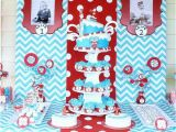 Thing 1 and Thing 2 Birthday Party Decorations Twins Birthday Party Thing 1 and Thing 2 Dr Seuss theme