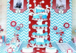 Thing 1 And 2 Birthday Party Decorations Twins