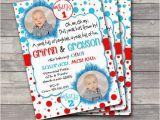 Thing 1 Thing 2 Birthday Invitations Printable Twin Quot Thing 1 Quot and Quot Thing 2 Quot Birthday Invitation