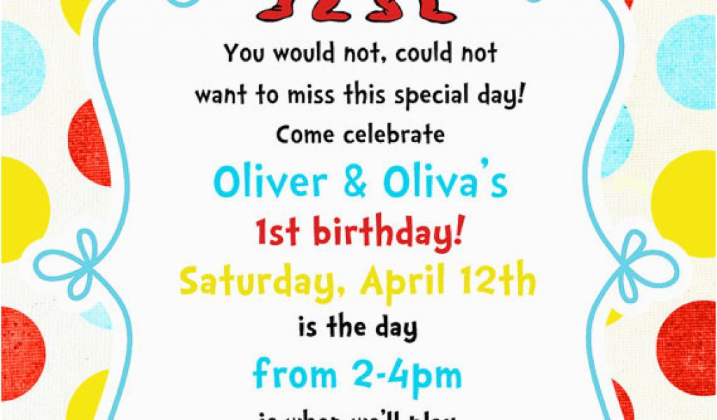 Download By SizeHandphone Tablet Desktop Original Size Back To Thing One And Two Birthday Invitations