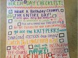 Things to Do for 16th Birthday Girl Sweet 16 Birthday Checklist Celebrate Birthday