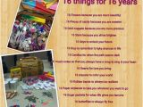 Things to Do for 16th Birthday Girl Sweet Sixteen Quotes for Daughter Quotesgram