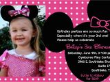 Third Birthday Invitation Wording the Bufe Family Minnie Mouse 3rd Birthday Party