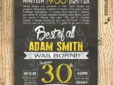 Thirtieth Birthday Invitations 30th Birthday Invitation Surprise 30th Birthday by