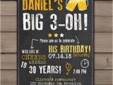 Thirtieth Birthday Invitations 30th Birthday Invitation Surprise Party Cheers and Beers
