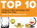 Thirtieth Birthday Presents for Him 30th Birthday Party Gift Ideas for Him