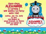 Thomas and Friends Birthday Invitation Cards attractive Thomas the Train Birthday Invitation Ideas