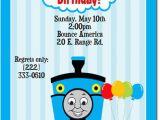 Thomas and Friends Birthday Invitation Cards Free Printable Thomas the Tank Engine Birthday Invitations