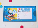 Thomas and Friends Birthday Invitation Cards How to Throw A Thomas Friends Diy Birthday Party