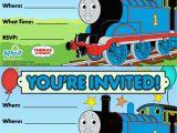 Thomas and Friends Birthday Invitation Cards Thomas Friends Party Invitation Free Birthday Party