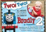 Thomas and Friends Birthday Invitation Cards Thomas the Train Custom Birthday Invitation for Your