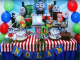 Thomas and Friends Birthday Party Decorations Thomas and Friends Birthday Quot Nolan 39 S 2nd Birthday