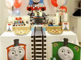 Thomas and Friends Birthday Party Decorations Thomas Friends Birthday Quot Thomas Train Track Birthday
