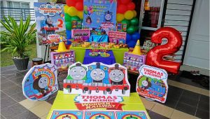 Thomas and Friends Birthday Party Decorations Wondermama Party Kl Wondermama Candy Buffet Thomas