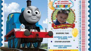 Thomas Birthday Invitations Personalized 9 Train Birthday Invitations for Kid Free Printable
