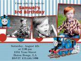 Thomas Birthday Invitations Personalized attractive Thomas the Train Birthday Invitation Ideas