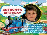 Thomas Birthday Invitations Personalized Thomas the Train Birthday Invitations Ideas Bagvania