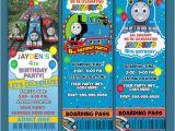 Thomas Birthday Invitations Personalized Thomas the Train Birthday Invitations Template Best