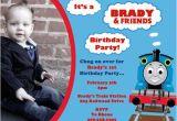 Thomas Birthday Invitations Personalized Thomas the Train Birthday Party Invitations