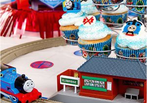 Thomas the Tank Birthday Decorations Thomas Cupcake Idea Cake Cupcake Ideas Thomas Party