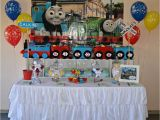Thomas the Tank Birthday Decorations Thomas the Tank Engine Birthday Party Ideas Photo 13 Of