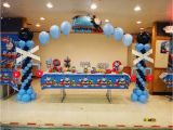 Thomas the Tank Birthday Decorations Thomas the Tank Engine Party Birthday Quot Alex and Xavier