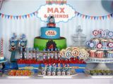 Thomas the Tank Birthday Decorations Thomas the Train Birthday Party Ideas Party Backdrops