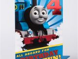 Thomas the Train Birthday Card Printable 4th Birthday Card Thomas the Tank Engine Only 99p