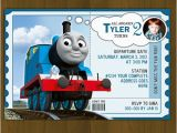 Thomas the Train Birthday Card Printable Thomas Train Birthday Invitations Printables