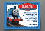 Thomas the Train Birthday Cards Thomas the Train Birthday Thank You Cards Instant