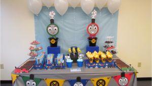 Thomas the Train Birthday Decorating Ideas Choo Choo Arron is Three A Thomas the Train Inspired